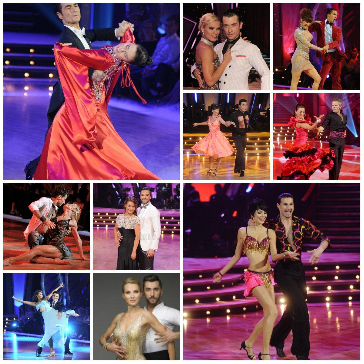 Stroje uczestników Tańca z gwiazdami