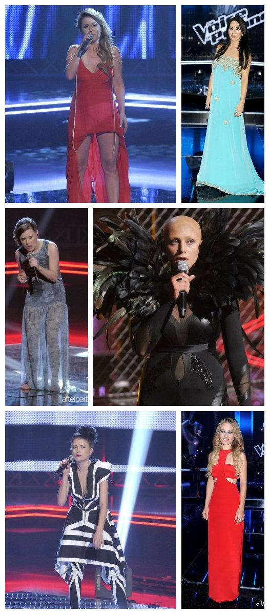 Stylizacje z The Voice of Poland