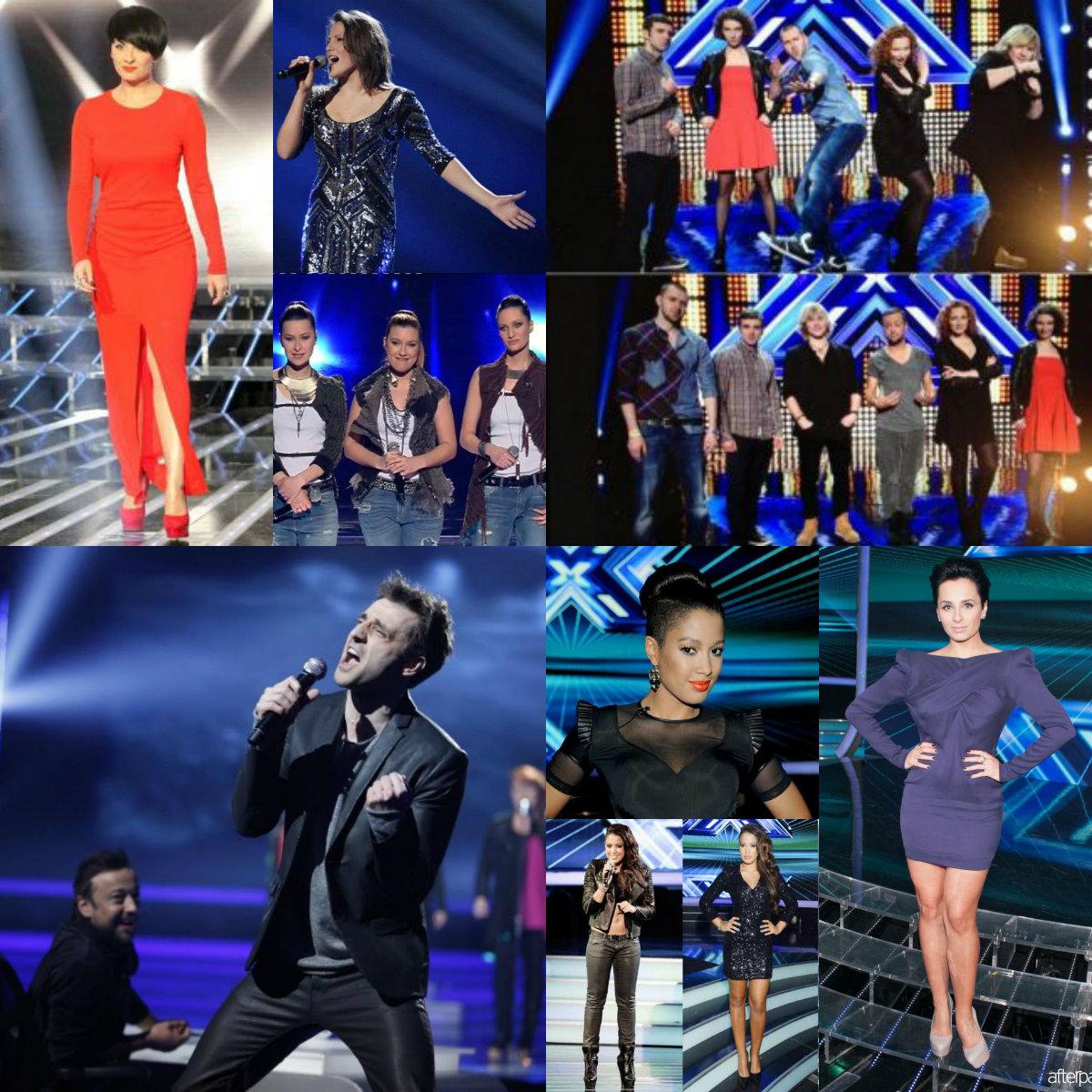 Kreacje z programu X-Factor