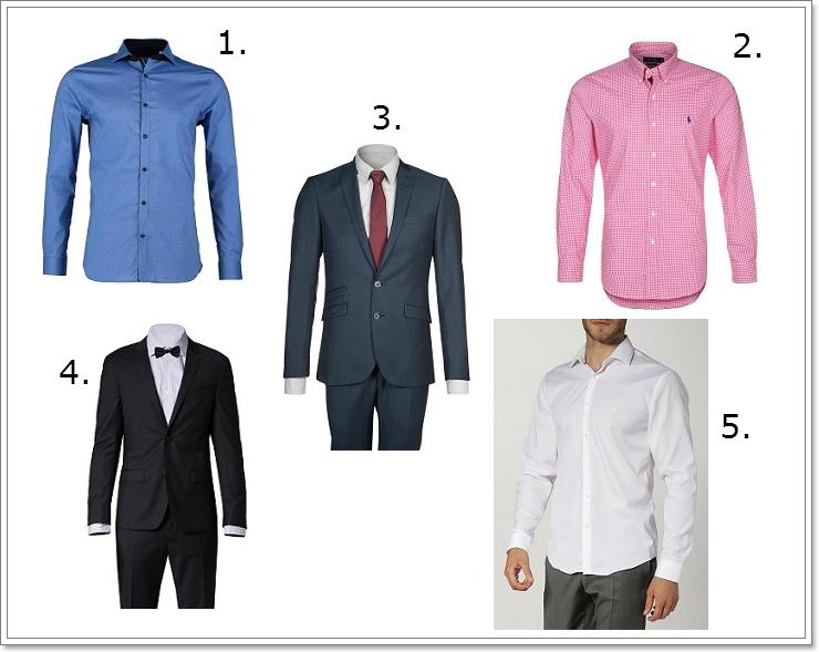 Garnitury i koszule