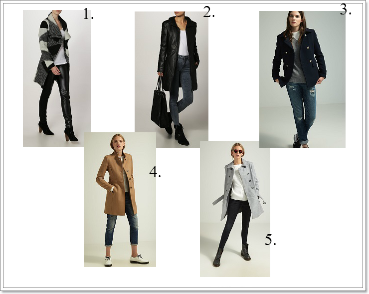 Nowoczesne płaszcze i kurtki damskie