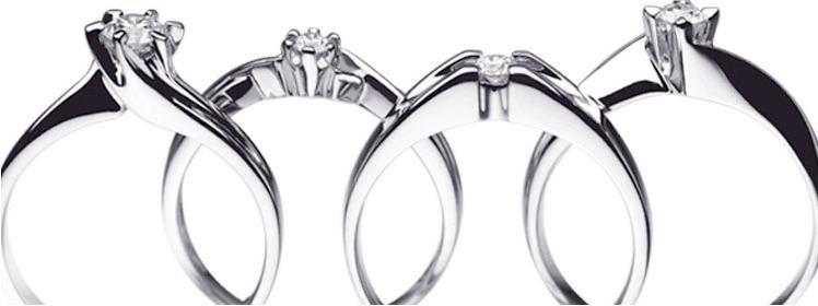 Piękne pierścionki zaręczynowe