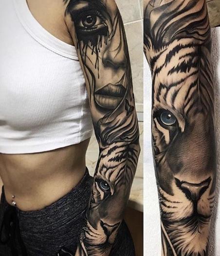 świetny Tatuaż Na Ręce Szpileczkipl